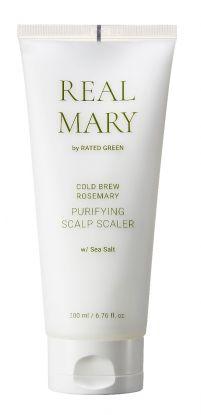 Cold Brew Rosemary Purifying Scalp Scaler (Sea Salt) 200ml