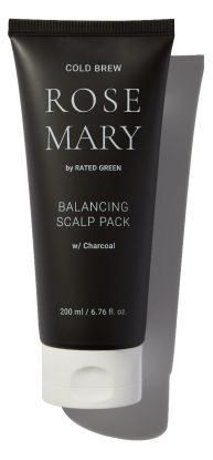 Cold Brew Rosemary Balancing Scalp Pack w/ Charcoal 200ml