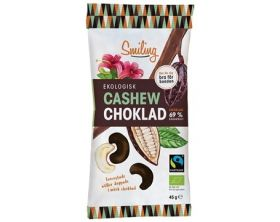Smiling Cashew Sjokolade 45g
