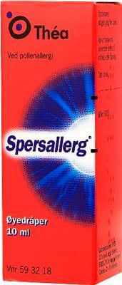 Spersallerg Øyedråper 10ml