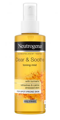 Clear & Soothe Tumeric Toning Mist