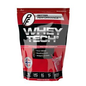 Whey Tech Protein , Strawberry 400g